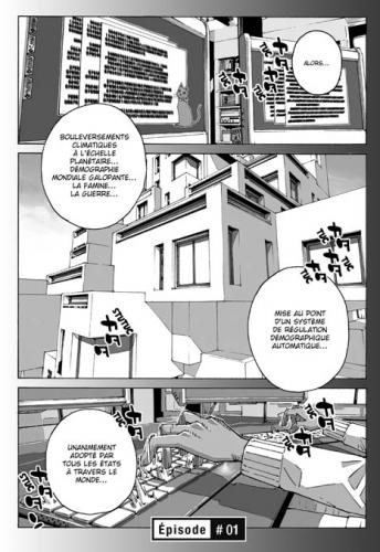 La catastrophe comme production de l'urbainSource : Nobuaki Tadano, 2012, Ethnicity 01,tome 1, planche 1, Doki-Doki.