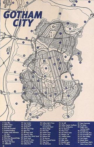 Gotham City Source : Wikipedia.