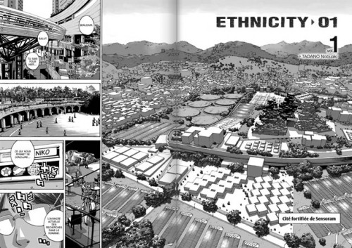 Sensoram Source : Ethnicity 01, tome 1, planches 2-3.