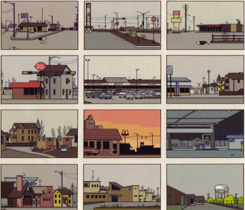 Source : Chris Ware, 2002, Jimmy Corrigan, Delcourt, p. 1.