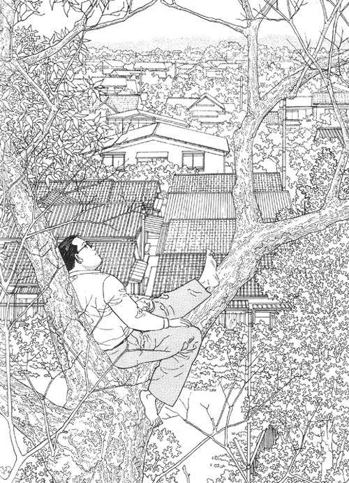 L'homme qui marche Jiro Taniguchi