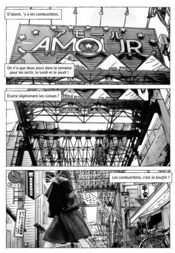 Source : Frédéric Boilet, Dans la ruelle Amour, bande dessinée extraite du collectif Japon, Casterman, 2005.